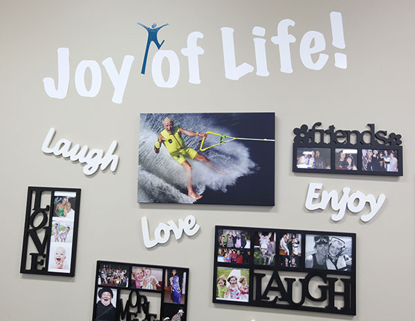 Joy of Life Wall at Bundilla Cilnic